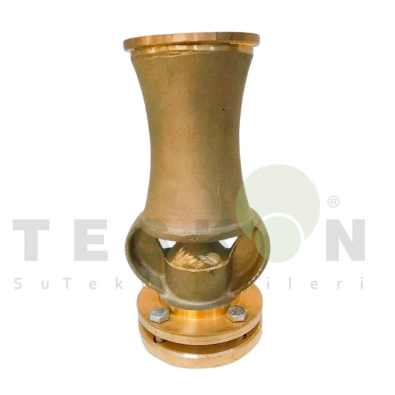Cascade Water Fountain Nozzle for Luxurious Prestigious Projects 70T Brass Ice Tower