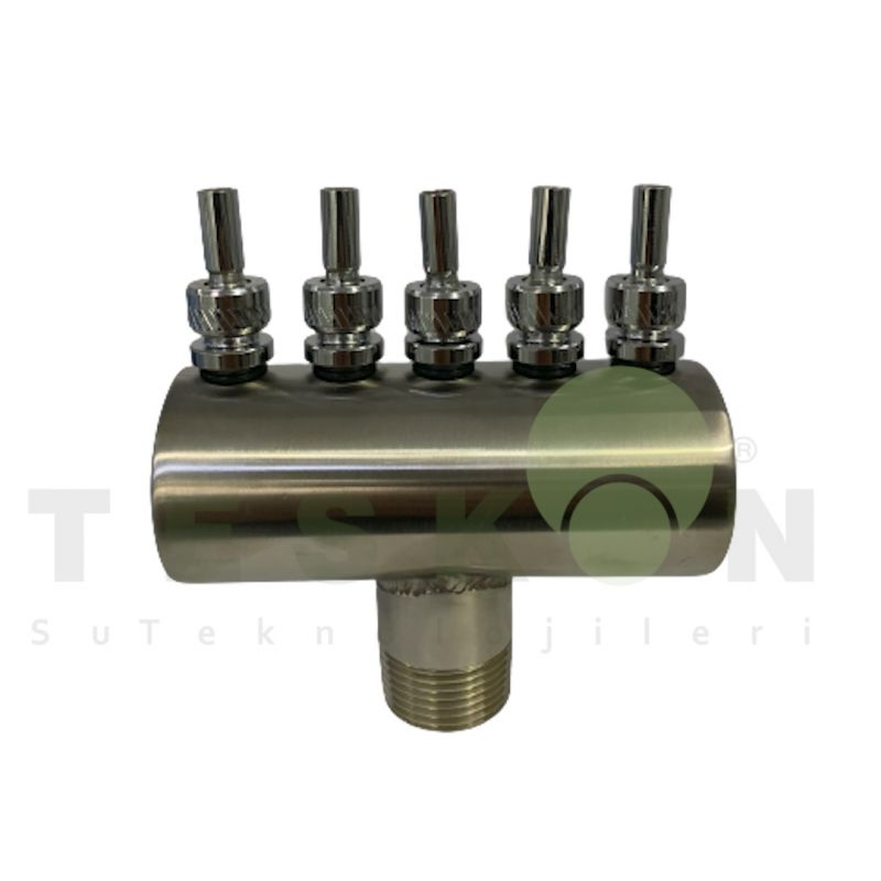 Teskon 12-5T Finger Jet Nozzle Stainless steel rotating nozzles rotating fountain nozzles