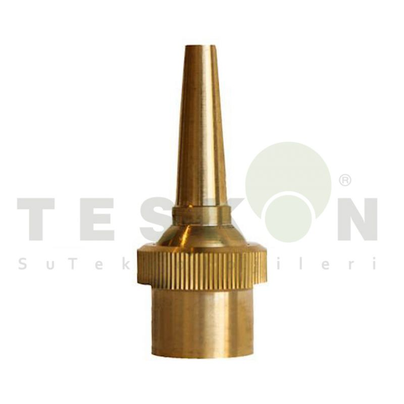 Multi Direction Jet Fountain Nozzle, Brass Comet Jet Nozzle 3/4
